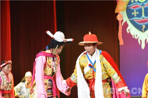 藏戏入选世界非遗十年 西藏举行汇报演出