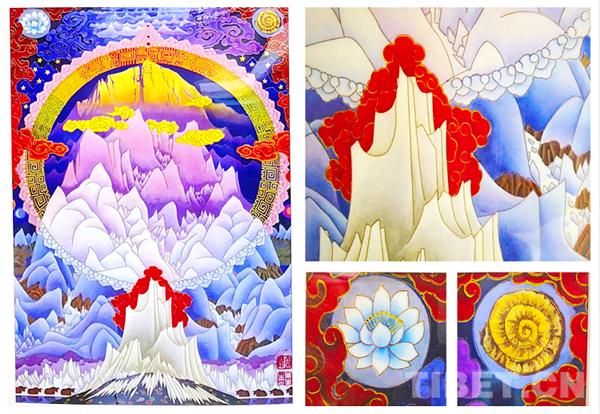 画家叶星生与人民大会堂壁画《珠峰叠彩》的故事8.jpg