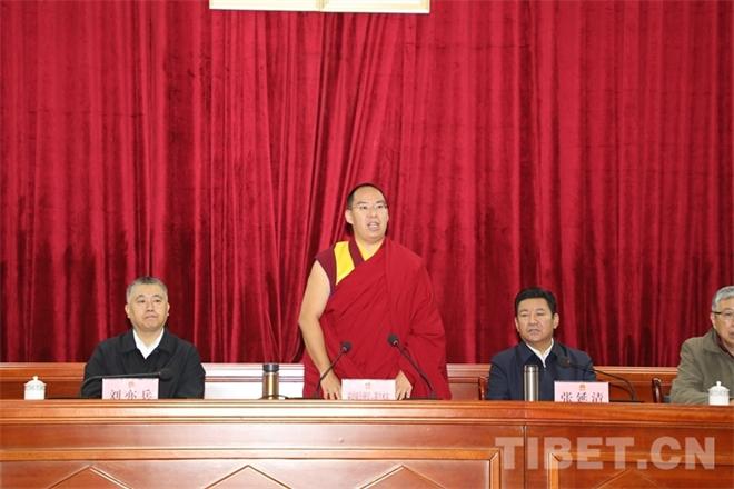 班禅:开展健康公益项目 助力西藏高质量发展2.jpg