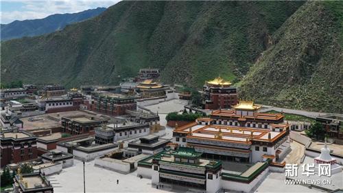 """""""世界藏学府""""拉卜楞寺完成14座佛殿主体修缮工程"""