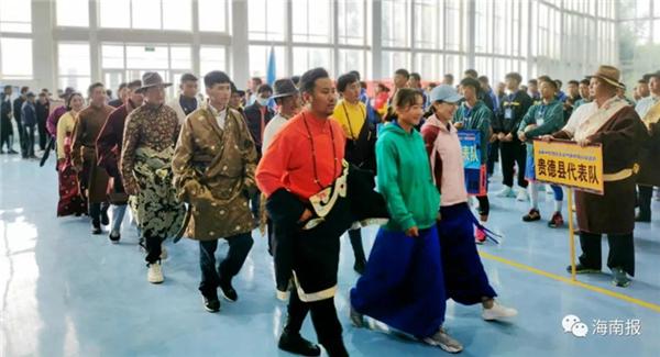 2020年青海省海南州农牧民运动会在龙羊峡举行