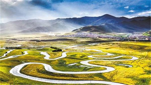甘肃省甘南州:保护黄河水生态 做足黄河水文章