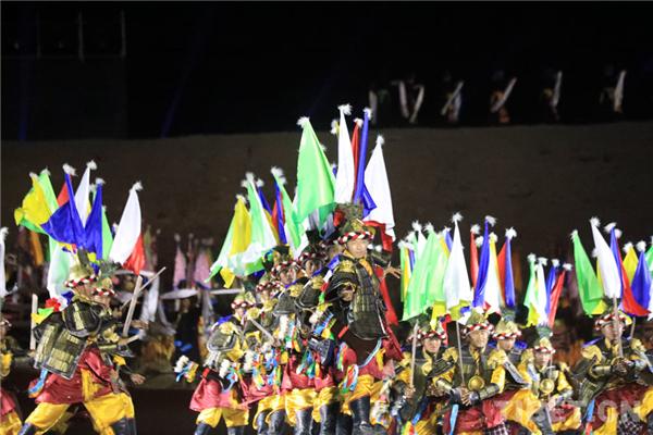 天上氆氇 锦绣扎囊 2020扎囊氆氇文化旅游节开幕
