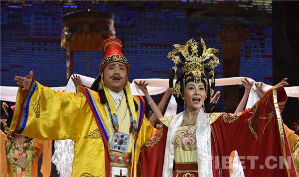 西藏传统八大藏戏数字化舞台化工程已完成六部