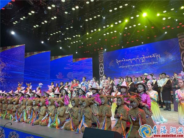 青海省海南电视台2021藏历新年文艺晚会彩排完成