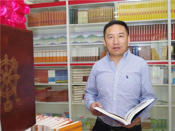 阿旺泽仁扎西:攀登民族出版高地的引领者
