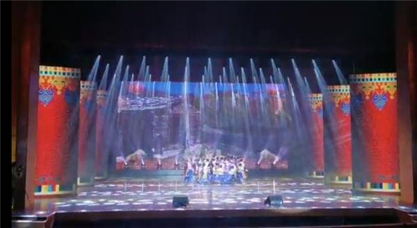 云南迪庆州2021年藏历新年文艺晚会录制完毕