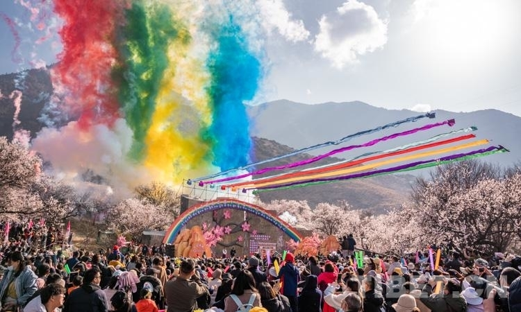 2021年西藏林芝第十九届桃花旅游文化节开幕