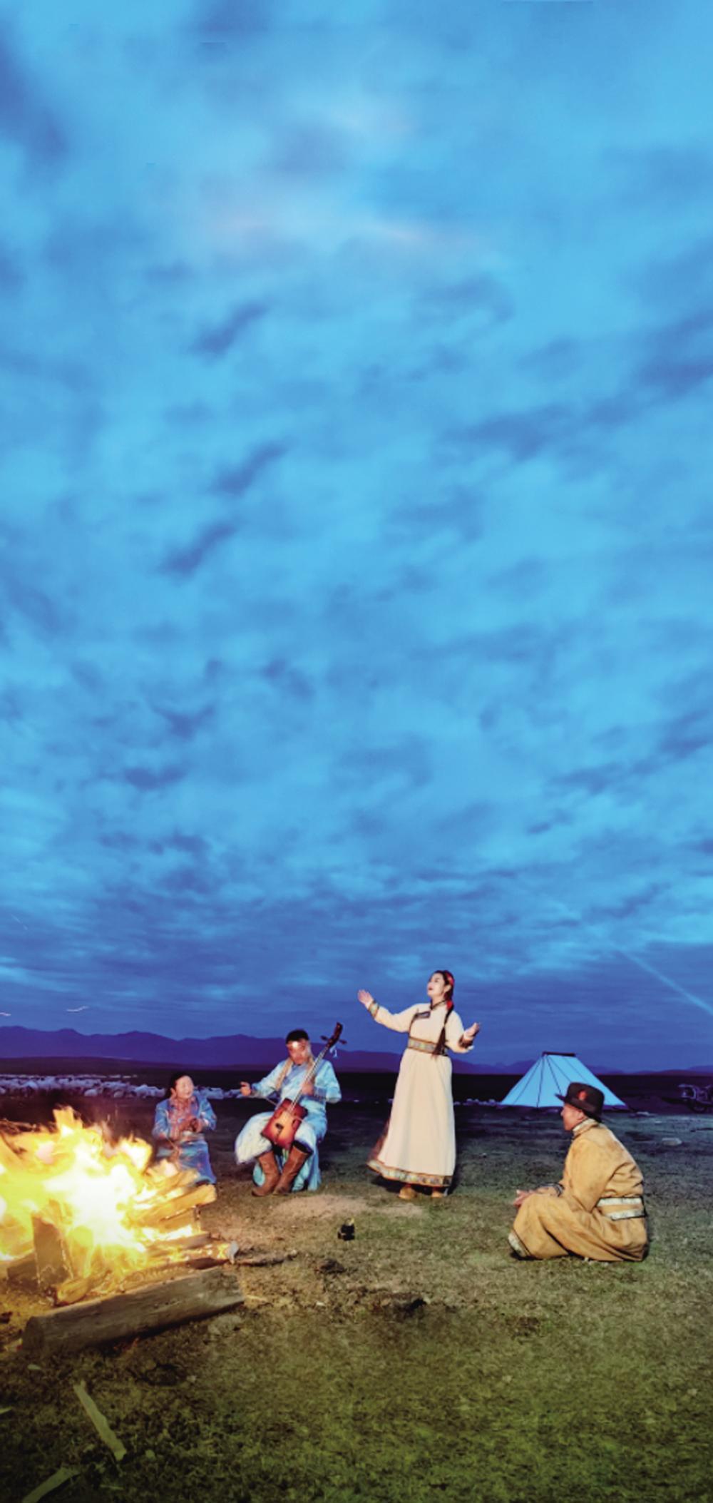 7集电视纪录片《跑马溜溜的云上》:云上的牧歌