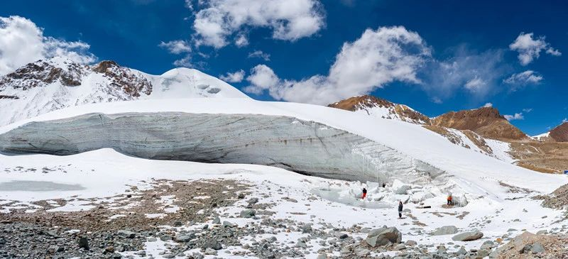 拉萨河谷1号冰川(廓琼岗日冰川)景区正式开放