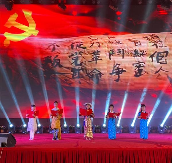 为党和祖国送祝福 西藏举行少儿音乐诗歌朗诵活动