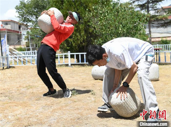 展示和体验 西藏全民健身体验月活动在拉萨启幕
