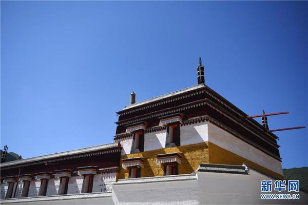 甘肃拉卜楞寺大规模整体保护修缮基本完工