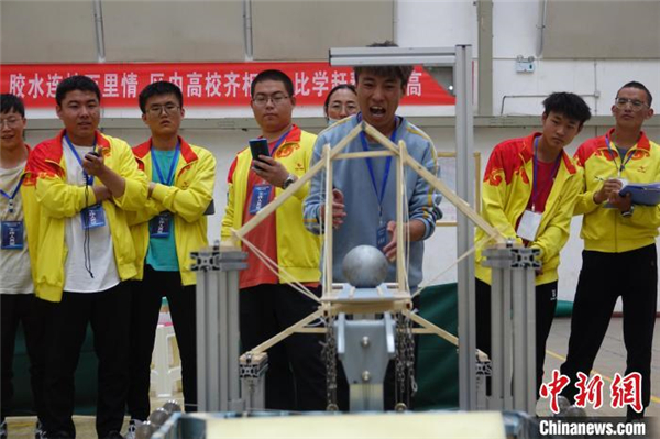 第三届西藏大学生结构设计竞赛结果揭晓