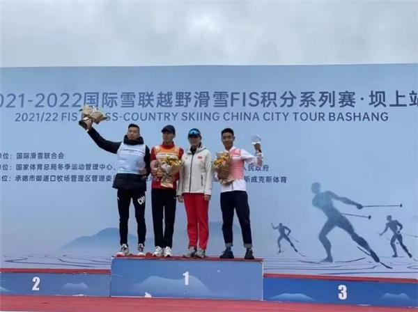 次仁占堆获国际滑雪FIS积分赛坝上站总分第三名