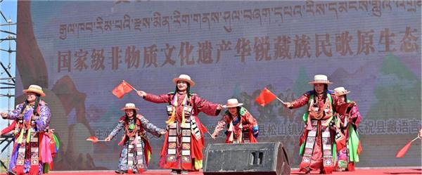 甘肃省天祝县举办华锐藏族民歌原生态演唱大赛