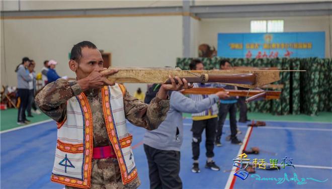 云南少数民族传统体育锦标赛射弩迪庆州选拔赛开赛