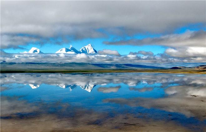 青藏高原的山水文化
