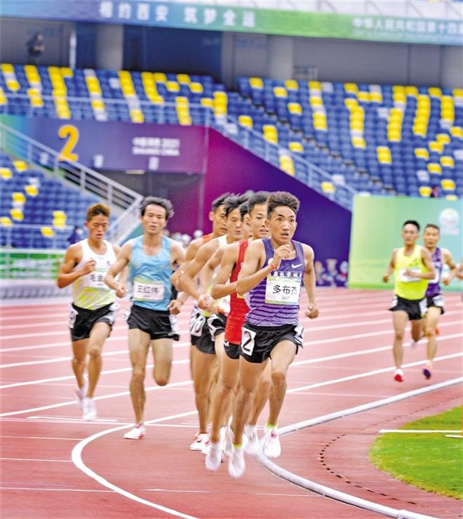 西藏摘得全运会第三金 多布杰男子5000米夺冠