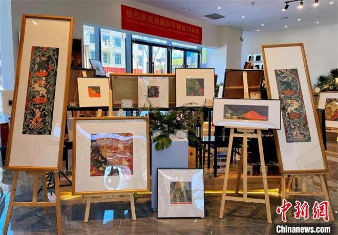 高志勇先生壁画摄影作品展在西藏拉萨展出