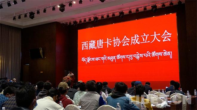 传承发扬唐卡文化艺术 西藏唐卡协会成立