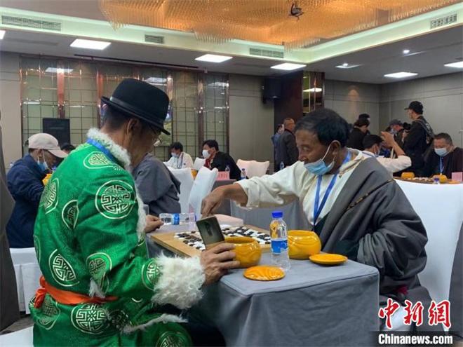 """2021首届""""岷山杯""""藏棋全国公开赛在拉萨开赛"""