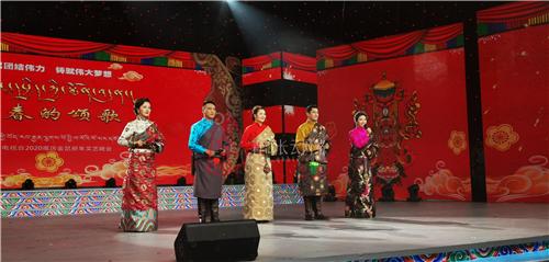 安多卫视2020藏历新年晚会《新春的颂歌》录制完成1.jpg