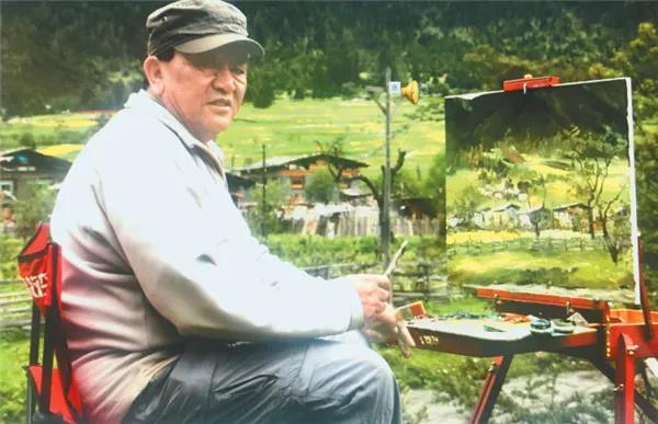 """与油画之间的""""对话"""" ——记西藏油画学会的画家前辈们.jpg"""