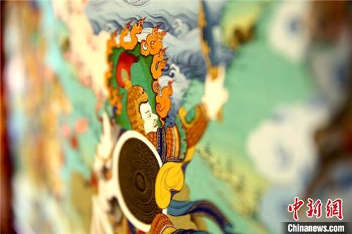 西藏60位唐卡传承人群结业 助力非遗文化传承5.jpg
