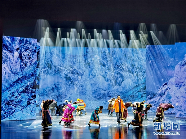 大型原创民族音乐剧《遇上你是我的缘》在青海大剧院上演3.jpg