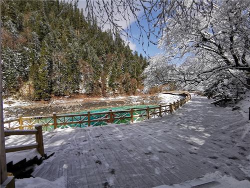 四川九寨沟景区开园首日:这些美景又回来了2.jpg
