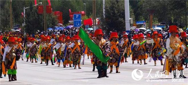 庆祝玉树藏族自治州成立70周年巡演活动举行2.jpg