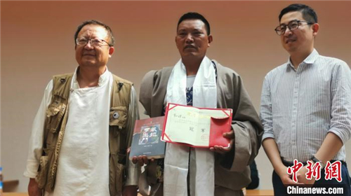 贝博ballbet体育官网第二批25位传统藏棋段位棋手在拉萨产生5.jpg