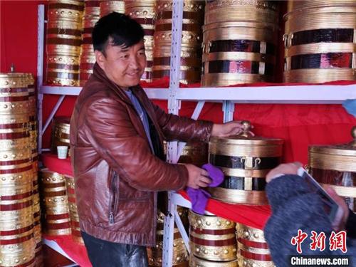 西藏山南打隆物交会启幕 首日交易额超274万元2.jpg