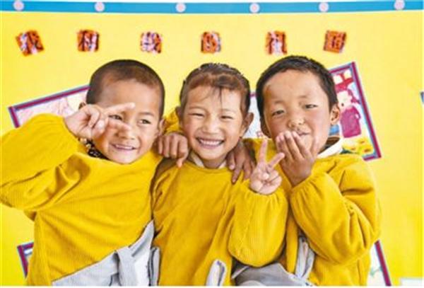 西藏日喀则28所高海拔乡村幼儿园启用2.jpg