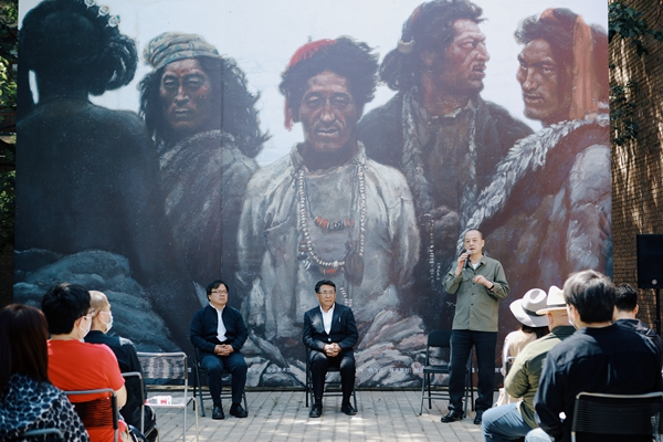 """""""四十年再看陳丹青《西藏組畫》""""展覽亮相中國藝術研究院油畫院1.jpg"""