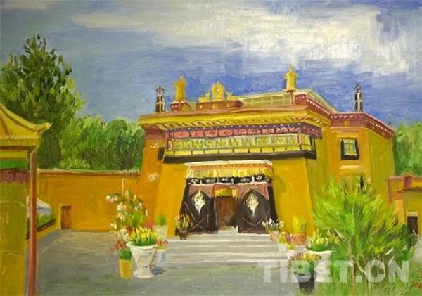 《看·见》仝海明西藏十年油画展在拉萨展出2.jpg