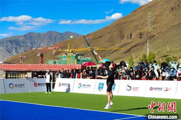 2020中网巅峰挑战赛走进拉萨 彭帅等知名运动员助力西藏公益1.jpg