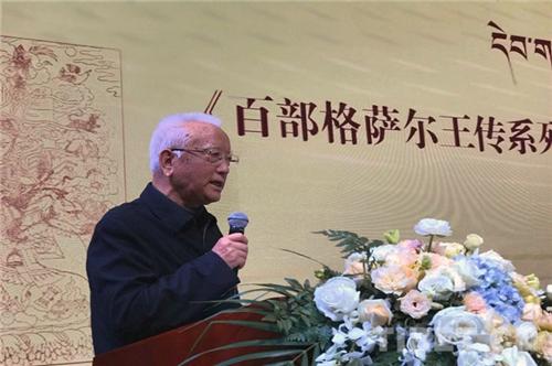 古籍影印版《百部格萨尔王传系列丛书》新书发布会在蓉举行2.jpg