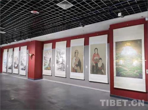 西南地区少数民族题材美术作品展在西藏拉萨开幕