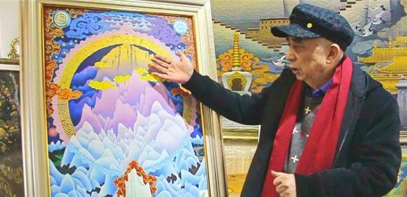 叶星生:我与《珠峰叠彩》的故事