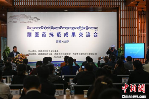 藏医药抗疫成果交流会在西藏拉萨举行5.jpg