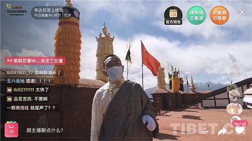 """网上好风景 近百万""""游客"""" """"云游"""" 布达拉宫2.jpg"""
