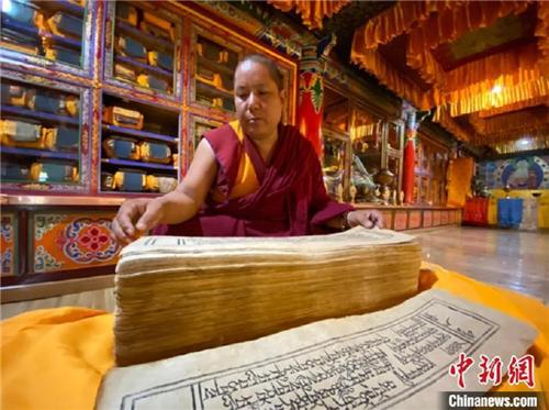 探访珍稀藏文大藏经《纳塘新版·甘珠尔》1.jpg