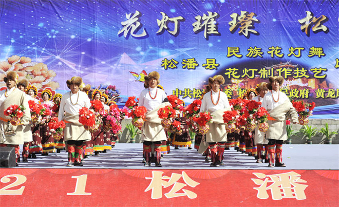 第五届古城花灯会9月15日在阿坝松潘县举行2.jpg