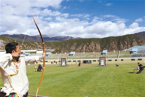西藏自治区第七届户外运动大会林芝响箭比赛举行.jpg
