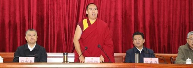 班禅:开展健康公益项目 助力西藏高质量发展